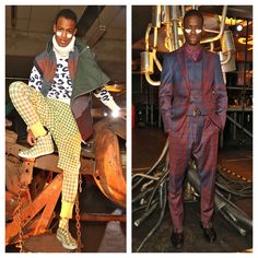 Vivenne Westwood FW13 Showcased at London Collections.