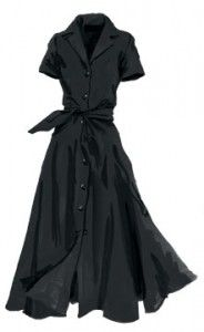 I want to rock a classy day dress look.
