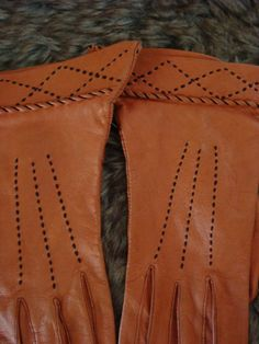 #Vintage #Leather #Gloves #Womens #Etsy