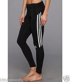 NWT Adidas Response Running Long Tights/Leggings CLIMALITE® - Large MSRP $50