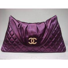 Últimas 2012 Chanel A37222 púrpura bolsas de piel de cordero de ...