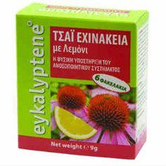 Vitorgan Eykalyptene Μίνι Τσάι Με Εχινάκεια & Λεμόνι 6τμχ   Pharmacy4u.gr