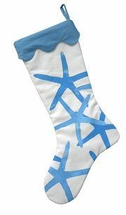 Blue Starfish Stocking