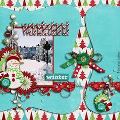 Bright & Colorful Winter Page...
