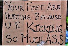 Funny Running Race Signs | Funny Marathon Signs That'll Keep You Running marathon_3 – The ...