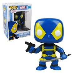 This is the new X-Men Deadpool pop vinyl figure to release in October, check him out here