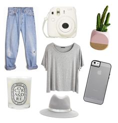 """""""RELAX"""" by maikeirving on Polyvore featuring Levi's, Diptyque, Chicnova Fashion and rag & bone"""