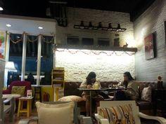 Ice cream cafe in thailand