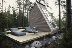 Voor het bouwen van dit micro huis heb je geen vergunning nodig!