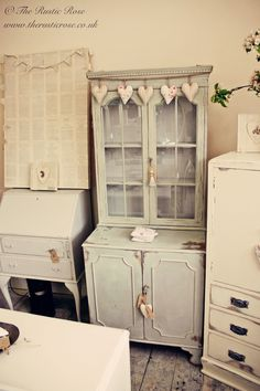 Our Shabby Chic furniture in our Pop up Shop earlier this year...
