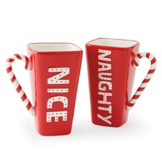 Hallmark Naughty and Nice Mug #hiddentreasuresdecorandmore