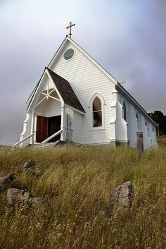 Old St. Hilary's Church, Tiburon CA