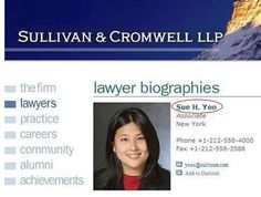Sue Yoo, who works as a lawyer: | 23 People With Better Names Than Yours