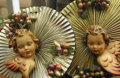 Designfinder, German Christmas angels.
