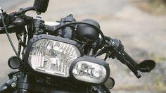 Bmw f800r headlight