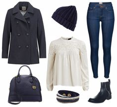 #Herbstoutfit #allblueeverything ♥ #outfit #Damenoutfit #outfitdestages #dresslove