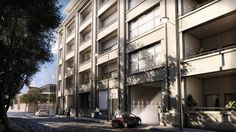 Render of a residential complex -ALTOS DEL LIBERTADOR- in Montevideo, Uruguay. http://altius.com.uy/index_proyecto.php?id=5