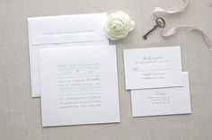 The Text Block letterpress wedding invitation can be customized with your choice of wording, fonts, colors, corner rounding, envelope lining and more.  // PRICING //  Pricing can be found on my website: chathamandcaron.com/pages/pricing  // CUSTOMIZATION //  Customization options can be found on my website: chathamandcaron.com/pages/customization  // SAMPLE //  Sample includes one invitation/envelope and one reply card/envelope.  // DEPOSIT //  If you are ready to move forward with an order…
