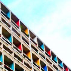 unidad habitacional Le corbusier, Marseille