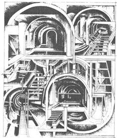 KLab re-inventing Las Vegas. Tunnels and porticos