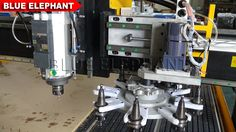 cnc router ATC the disc automatic tool change