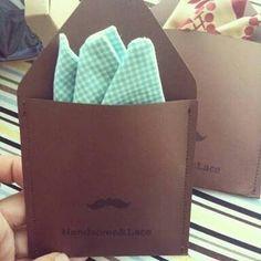 Pocket square packaging