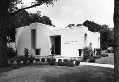 Office of Dr. Robert Uible, Orthodontist. San Marco area of Jacksonville. Architect, Lamar Drake of Patillo and Drake.