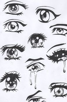 eyes - large eyes more easily express  communicate a broad range of human emotions - sadness, anger, happiness.