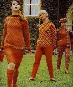 1960s Orange looks like Bobbie Brooks! Colleen Corby Cay Sanderson Susan Van Wyck