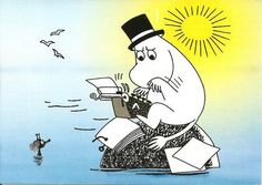 Moomin- not early drawings (the eyes…)
