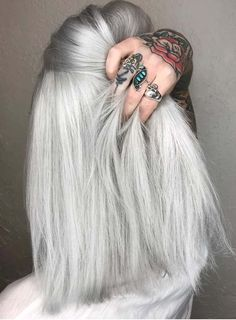 68 Sensational Silver Hair Color Tones to Show Off in 2018. See here and learn how to get best silver hair colors for more obsessing and sexy hair color looks. In this page we've presented amazing shades of silver or grey grey hair colors to give inspirational ideas of hair colors in 2018. You can say this is one of the most popular shades of hair colors to use in 2018.