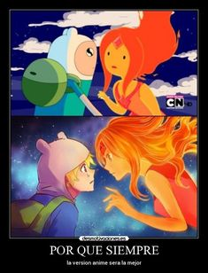 adventure time anime | carteles anime fin adventure time desmotivaciones