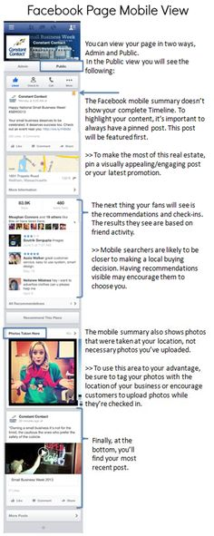 Facebook Mobile Marketing Tips for Small Businesses