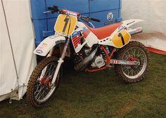 Kurt Nicoll KTM 500 factory 1990