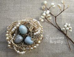 Pearl Nest Tutorial-Tarnished Royalty