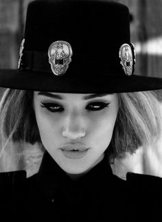 western style fedora hat