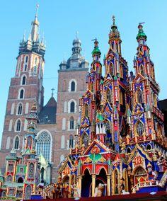 krakow christmas nativity - Google Search