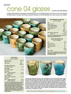Hottest Screen Ceramics glaze how to Ideas Newest Snap Shots Ceramics Glaze recipes Popular New Photo Ceramics glaze low fire Thoughts scree Earthenware Clay, Ceramic Clay, Glazes For Pottery, Ceramic Pottery, Orange Glaze Recipes, Earth Craft, Ceramics Monthly, Ceramic Glaze Recipes, Clay Vase
