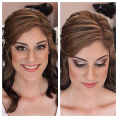 Bridal Trial- Hair by Dee - Makeup by Stacey with @Shawna Henrie  & @theoverwhelmedbride at the @SWELL Beauty Salon in Laguna Beach