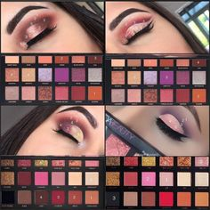 """332 mentions J'aime, 7 commentaires - Make-Up Artist (@jbagh_mua) sur Instagram : """"Pictorial using @hudabeauty desert dusk palette ! Also have you seen her new eyeshadow palettes!…"""""""