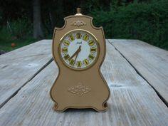 RARE Soviet Table Mechanical Mantle Clock AGAT in by Tiktaktuk, $39.00