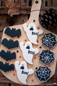 Halloween cookies | Caramel Cookie