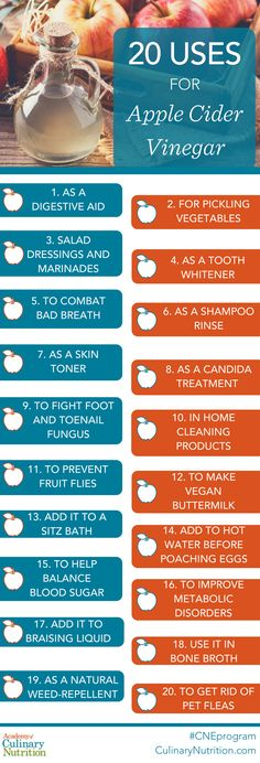 20 Uses for Apple Cider Vinegar
