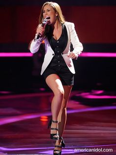 Haley Reinhart Haley Reinhart, Steven Tyler, Aerosmith, American Idol, Me Me Me Song, Lady Gaga, Tv Shows, Punk