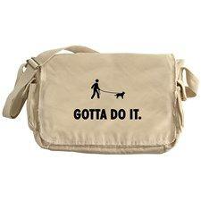 Australian Cattle Dog Messenger Bag for