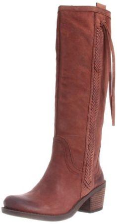 52086f0f8162f7 Nine West Women s Thora Riding Boot Dark Brown Leather
