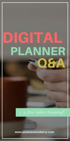 Want to know more about digital planning and how a digital planner works? Im answering questions about using a digital planner and how you can even use these as planner printables to write on for organization. #planner #organization #organizing #organize #plannerideas #onlineplanner #digitalplanner