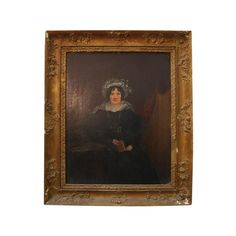 portrait of a lady seated in period dress, oil on board, unsigned in a gilt gesso frame, together with a card naming the sitter as Bridget Louisa (McEvoy) Daly, wife of Peter Daly School Portraits, Fine Art Auctions, Swan, 19th Century, Period, Irish, Board, Frame, Painting