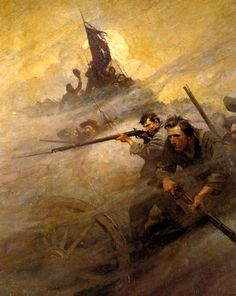 The Fog of War | 13TH MISSISSIPPI INFANTRY REGIMENT N.C. Wyeth Civil War art. Not about the 13th, per se, just a good piece of illustrative work without the sentiment of most modern ACW stuff. Yet stirring, obviously. And who says it couldn't be about the 13th