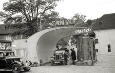 Nejkrásnější benzínky stavěl Gočár